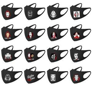 Maschere Salvador Dali 17 stili frangivento Bocca Maschera unisex anti-polvere di cotone viso maschera per Uomo Donna RRA3185