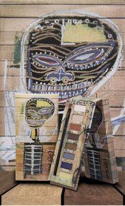 Yeni Makyaj 8 renkler Jean-Michel Basquiat Kiracı Göz Farı Paleti Mat Elmas Glitter Pırıltılı Göz Farı Paleti
