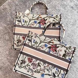 2020 Nouvelle couleur Mode sac toile femmes achats de broderie sac à main grand fourre-tout dames de luxe sac fourre-tout livre Sac à main Sac à bandoulière shippin gratuit