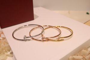 Elastic thin version nail bracelet jewelry women necklace rings earrings love bracelet mens 14k gold chains cuban link chain