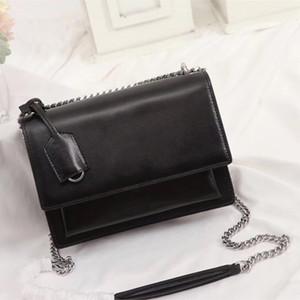sacs à main sac à rabat de haute qualité SUNSET sacs à main en cuir d'origine sacs femmes sacs à bandoulière sac à bandoulière moyen de mode 442906