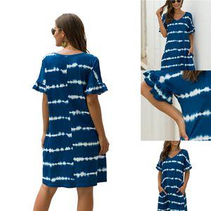 Thefound Women Chiffon Dress Women Chiffon Long Sleeve V Neck Club Party Solid Casual Loose Mini Short Dress#318