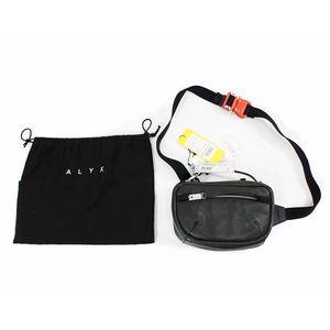 2019 nouvelles poches hommes et les femmes poches en cuir ceinture boucle en métal ALYX rue Alyx sac de mode ambiance haut de gamme