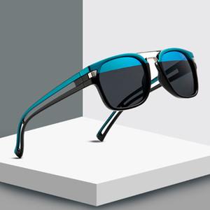 2020 Yeni çift renkli Kare Güneş gözlüğü Erkekler Kadınlar Marka Tasarımcı Güneş Gözlükleri UV400 Shades Gözlük Gafas De Sol