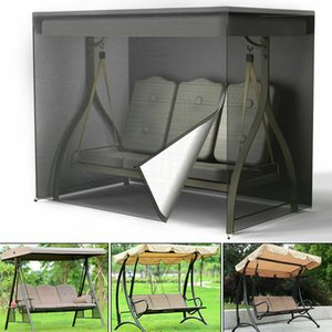 Outdoor Swing Chair Hammock 3 Seater Garden Canopy Bench Seat Cover Protector 3 layers anti rain dust snow wind UV protecter