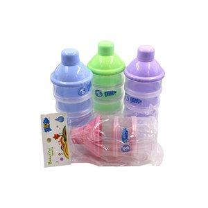 -Split Infant Milk Box-Layered Use Newborns Baby Shift Milk Powder Storage Box
