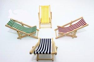 1: 6/1: 12 مقياس كرسي شاطئ حمامات الشمس كرسي تشيس ونغ دمية مصغرة لعبة دمية الغذاء مطبخ غرفة المعيشة الملحقات