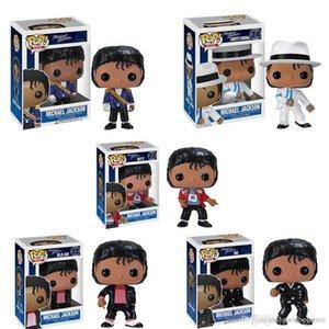 lowprice Hot Funko pop Beat It Billie Jean BAD MICHAEL JACKSON Action Figure Toy Collectible Modelo para chlidren