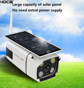 1080P 2Mp Outdoor water-proove Wireless Solar powered pir camera two ways audio WIFI IP IR bullet camera with 128G SD slot AND mobile's APPLICATION