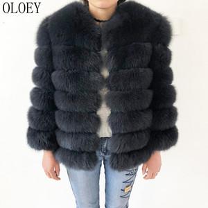 Manteau en fourrure naturelle Veste en fourrure de renard véritable Nouveau Haute qualité 100% cuir manteaux Manteau en cuir naturel et cuir véritable