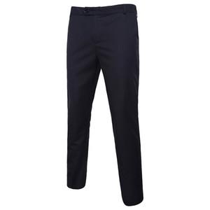 NOUVELLES 2020 pantalons pour hommes de sexe masculin hommes printemps été Pantalons pour hommes slim robe droite pantalon rayé pantalon de costume formel
