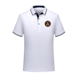 Atlanta United FC 2020 camisa de algodão de moda futebol polo homens camisa pólo homens futebol lapela polo de manga curta Camisa formação Polos de Homens