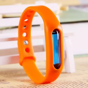 Natural Mosquito Repellent Silicone Bracelets Wristbands For Children