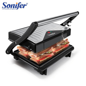 Mini Electric BBQ Grill 750W Travel Barbecue Machine Grill Electric Hotplate Smokeless Grilled Meat Pan Easy To Carry Sonifer
