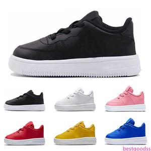 2019 cheap fashion kids shoes top quality triple black white red pink platform sneakers for girls boys casual skateboard shoe