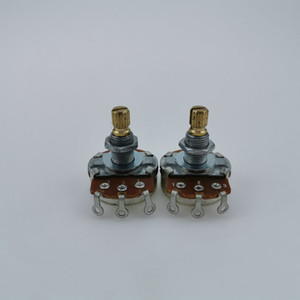 NEW high quality Guitar Potentiometer A250K B250K Copper shaft pot