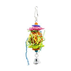 Parrot Toys Bird Toys Sepaktakraw Gnaw Wire Drawing Toys Loro de tamaño pequeño Uso Segundo gramo Fuerza Amazon Nuevo