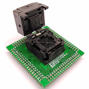 Freeshipping Pitch QFN64 MLF64 WLCSP64 Adaptateur NP506-064-040-G Programmation Socket IC Chip Clamshell Taille 8x8 test Burn in Socket