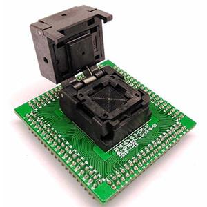 QFN64 MLF64 WLCSP64 адаптер NP506-064-040-г бесплатная доставка с шагом 0,4 мм разъем программирования ИМС раскладушка чип размером 8х8 испытания записать в сокет