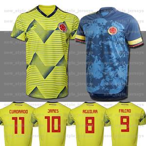 2020 2021 Колумбия футбол Джерси Копа Америка Колумбийский футбол рубашка Родригес Camiseta Майо-де-футовый Cuadrado Camisetas де Futbol