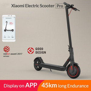 2020 !! Xiaomi Mi Elektrikli Scooter Mijia M365 Pro Akıllı E Scooter Kaykay Mini Katlanabilir Uçuç Longboard Yetişkin 45km Pil İçin