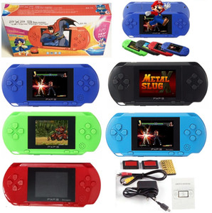 2.7 inch Screen PXP3 Handheld TV Video Game Console 16 bit Classic Portable PXP3 Slim Station Pocket Game Players with retail package