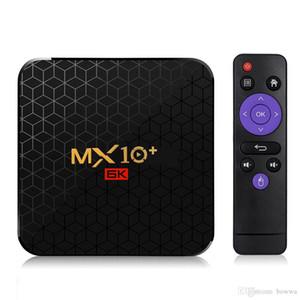 Android 9.0 6K TV Box MX10 Artı Allwinner H6 Dört Çekirdek 4G 32G 64G 5G Çift WiFi BT4.0 6K * 4K Media Player