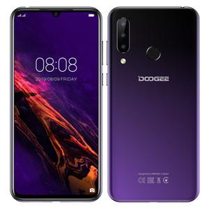 Doogee N20 Mobilephone empreintes digitales 6.3inch FHD + Affichage 16MP Triple Retour caméra 64 Go 4 Go MT6763 Octa base 4350mAh Mobile LTE