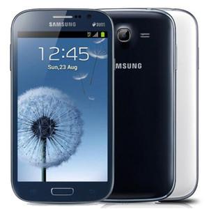 Оригинальный Восстановленное Samsung Galaxy i9082 Гранд Duos 5,0-дюймовый Dual Core 1GB RAM 8GB ROM 8.0MP Dual SIM разблокирована 3G Android телефон DHL 1шт