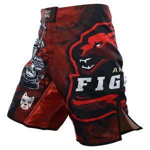 2019 pantalones de Muay Thai Boxing Entrenamiento de la gimnasia de boxeo Muay Thai Shorts Shorts baratos Kickboxing Neumáticos para hombres