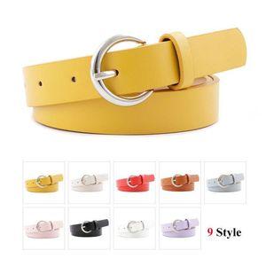 Women's imitation leather pin buckle small belt female dress with sweater thin waistbelt fashion youth wild Korean student belt