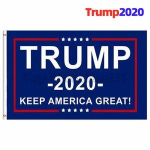 90 * 150CM Trump 2020 Halten Sie Amerika großartig! Flagge Trump2020 Banner liefern Donald für Präsidenten USA Flag Wholesale