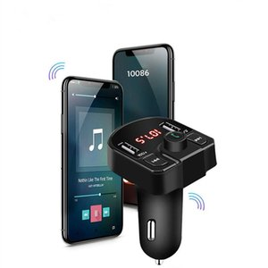 M9 Car Kit Handsfree Wireless Bluetooth FM Transmitter LCD MP3 Player USB Charger 2.1A support TF USB with Retail Box