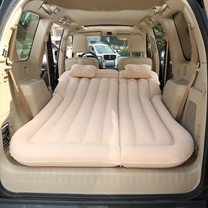 Affollamento auto gonfiabile Bed SUV Car Materasso posteriore Row di sonno di corsa Pad Off-road Materassino Camping Mat Air Mattress