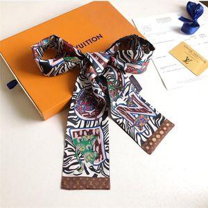 2019 New designer Silk Handbag Long Scarf shawl for Women High Quality Italy Brand