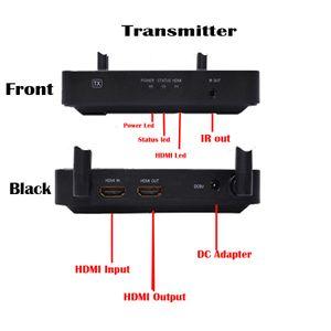 Livraison Gratuite 100 m Sans Fil HDMI Extender 2.4 GHz / 5 GHz 1080 P Wifi HDMI 1.3 Audio Vidéo Expéditeur Émetteur Récepteur Avec IR Soutien HDCP1. 4 HDT