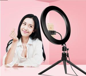 26 centímetros de telefone LED Light Anel selfie Anel lâmpada novidade novedades 2019 Fotografia de vídeo ao vivo Estúdio Preencha luz Photo Luz para Smartphone