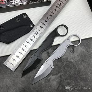 440C 스트레이트 카라 멧 나이프 EDC 나이프 생존 전술 고정 블레이드 나이프 옥외 유틸리티 Knifes CS Go Knive Camping Pen Knife