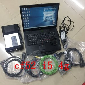 2020 Top quality MB STAR C5 sd connect better than c4 sd connect all soft-ware installed well in Laptop cf52 i5 dhl free shipping