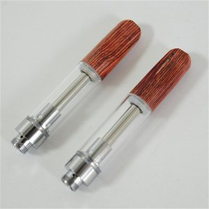 Dabwoods Empty Vape Pen Cartridges Glass Thick Oil Cartridge Atomizer Packaging E-Cigarettes Starter Kits 1.0ML 0.8ML Vaporizer Pens