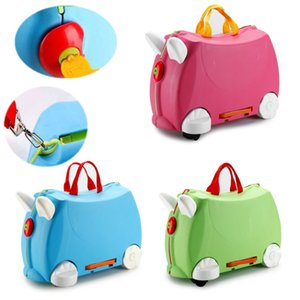 Children Boy Girls Suitcase Trolley Mount Universal Wheel Portable Boarding Case Box The Prince's Trust Charity Trunk Rolling Luggages
