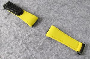 Tessuto di nylon CANVAS STRAP BAND BRACCIALE ACCESSORIO PER RM35-01 RM27 RM011 RM55 RM53 RM67 RM035-01 Rafael Nadal NTPT UOMINI OROLOGIO OROLOGIO PARTE