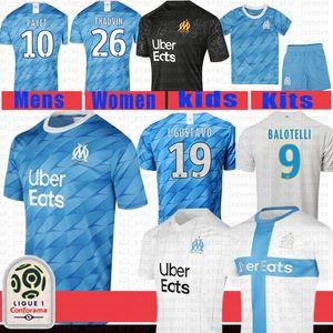 erkek Olympique De Marseille Futbol Forma Gömlek THAUVIN PAYET BENEDETTO L.GUSTAVO Radonjic Rami SANSON STROOTMAN GERMAIN Futbol Üniformalar