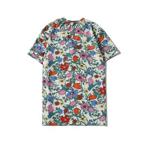 Mens T Shirt Fashion Tees Tops Breathable Shorts Sleeves Flower With Embroidery Tops T Shirts Summer