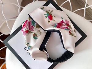 Tasarımcılar İpek Çapraz Elastik Kadınlar Bantlar Moda Lüks Kız Çiçekler Saç bantları Saç Aksesuarları Hediyeler Sıcak Satış İyi Headwraps