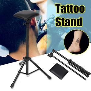 Adjustable Height Tattoo Stand DIY Tattoo Arm Leg Rest Studio Armrest Pad Tripod Stand Tools Tattoo Accessories 65-115cm
