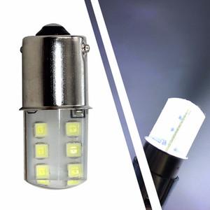 100X1156 BA15S 1157 BAY15D P21 / 5W 2W 2835 SMD 12 LED Coche Blanco Rojo Amarillo Luz de señal de giro Lámpara Esquina Bulbo de estacionamiento
