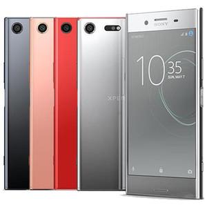 Originale ristrutturato Sony XZ Premium G8141 G8142 5.5 pollici Octa core 4GB di RAM 64GB ROM 19MP + 13 MP 4G LTE Android Smart Phone libero DHL 10pcs