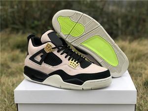 Newest Jumpman 4 IV 4s Blue Black White Denim NRG Jeans Men Kids Basketball Shoes Jean Sneakers Mens Shoes