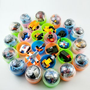 65 * 70mm assembling building blocks, capsules, boy cars, girls, puzzles, assembling toy balls